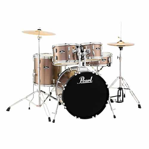 Inexpensive Drum Set for Beginners - Pearl Roadshow