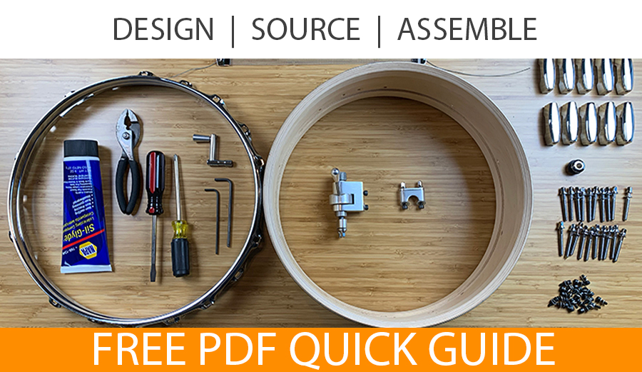 design and build your own drum set with this quick guide