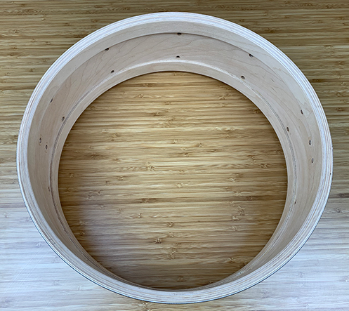 drum shell for drum build
